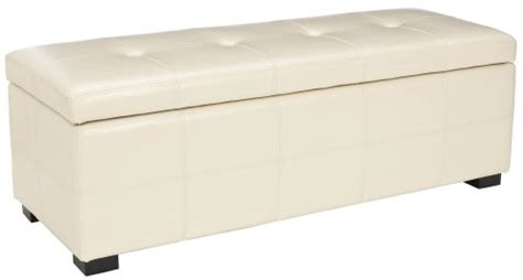safavieh hudson collection noho tufted leather large storage safavieh hudson collection noho tufted leather large storage bench furniture benches