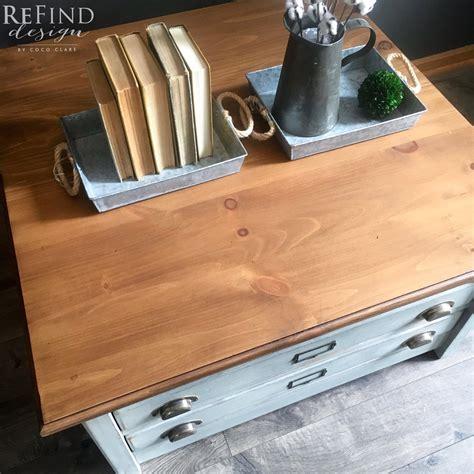 Reuzel Blue Waterbased Pink Oilbased antique oak water based stained dresser top general finishes design center