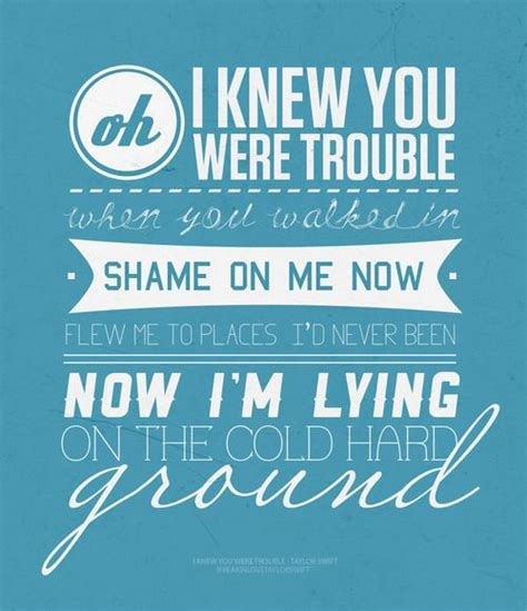 taylor swift i knew you were trouble music video mtv 66 best images about song lyrics on pinterest taylor