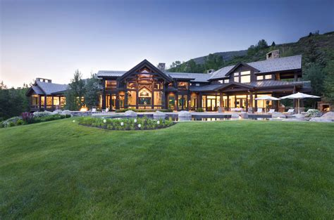 gorgeous luxury home with staggering view aspen