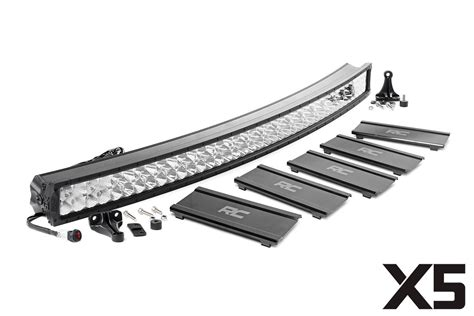 52 single row light bar 52 in curved cree led light bar x5 series 76254