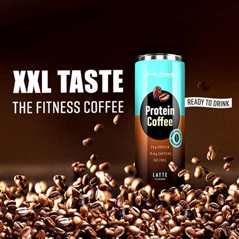 protein coffee attack launcht fettfreien protein coffee
