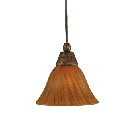 Instant Pendant Light Adapter Home Decorators Collection 1 Light Brushed Bronze Instant Pendant With Conversion