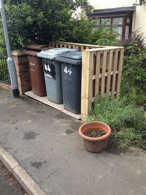 10 best images about wheelie bin store on pinterest recycling sheds and trash bins
