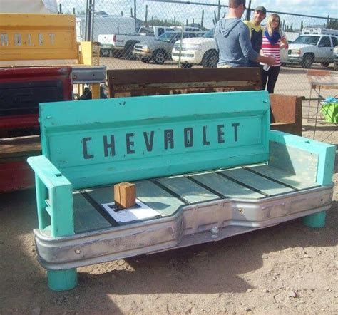 tailgate sofa 12 strangest objects you can turn into apartment furniture