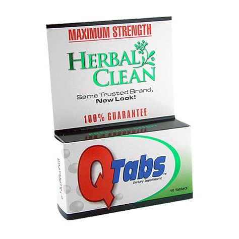 Emergency Flush Detox Tablets by Tabs From Herbal Clean
