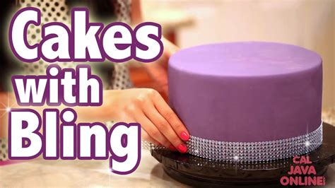 How To Bling Out Your Cake with Glam RIbbons   Cake