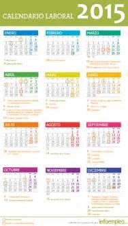 Calendario Laboral Barcelona 2015 El Calendario Laboral 2015 Se Publica Con Una