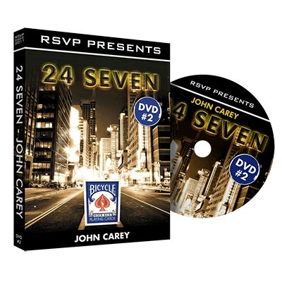 Dvd Sulap Carey 24seven Vol 1 2 24seven vol 2 by carey and rsvp magic dvd
