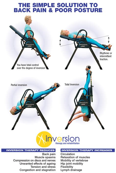 how to use an inversion table for lower back use an inversion table therapy for back exercises