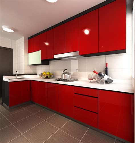 Design For Kitchen Cabinet by Modern Kitchen Designer Singapore