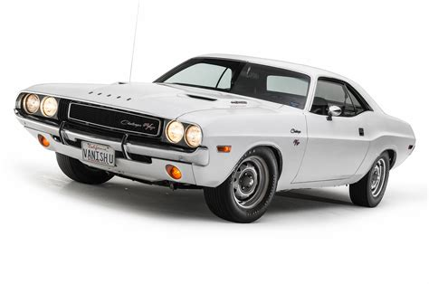 Closer Look at the 1970 Dodge Challenger from Vanishing Point