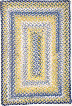 yellow rug on