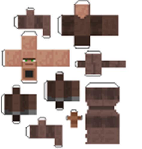Minecraft Papercraft Villager - minecraft papercraft villager blacksmith www pixshark