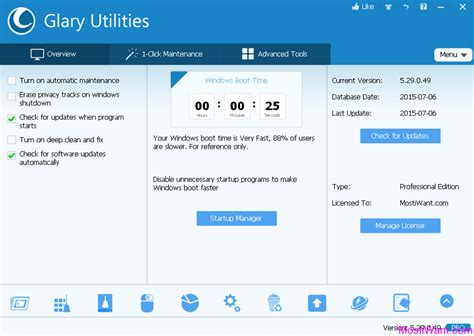 Glary Utilities Pro Giveaway - giveaway glary utilities pro 5 free 1 year license code most i want