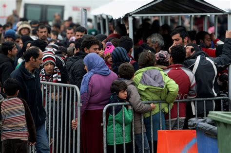 migrant crisis unhcr warns europe eu warns migration system could completely in ten days world news express co uk