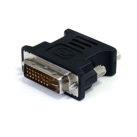 Adaptor Fleco F 004 startech dvi to a vga connector black dvivgamfbk electronics
