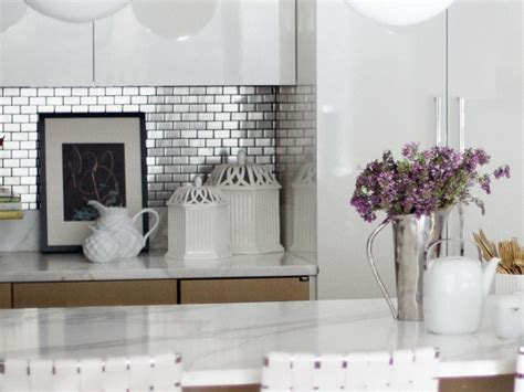 stainless steel kitchen backsplash tiles stainless steel backsplash tiles pictures ideas from hgtv hgtv