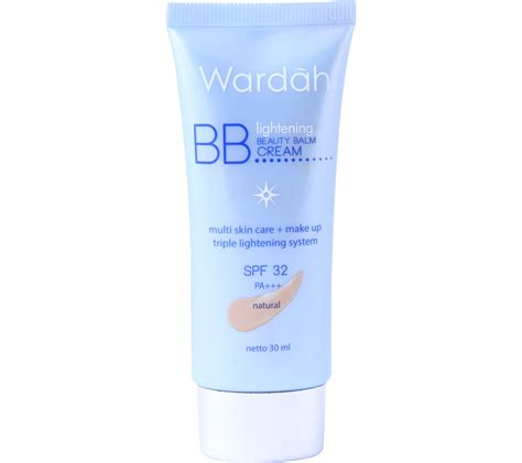 Bb Wardah wardah lightening balm bb faces