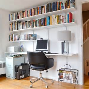 Shelving Desk Progress In The Study And How To Build A Hanging Shelving