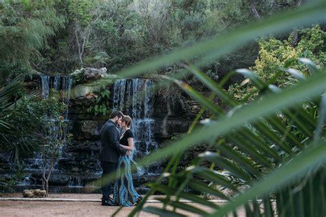 Zilker Park Botanical Gardens Zilker Botanical Garden Engagement Session Wedding Photographer Elissa R
