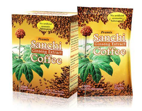Sanchi Ginseng sanchi coffee extrak ginseng member stokis distributor