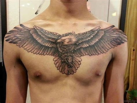 40 Wonderful Eagle Tattoos Design For Chest Eagle Chest