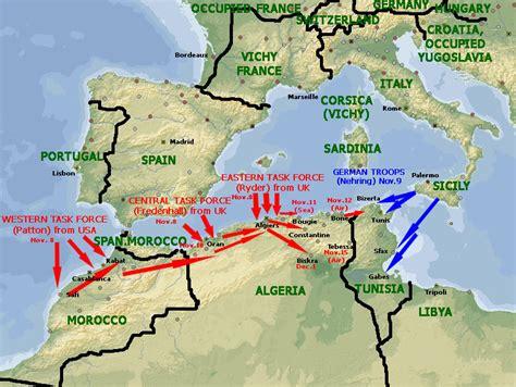 torch operation northwest africa 1942 1943 world war