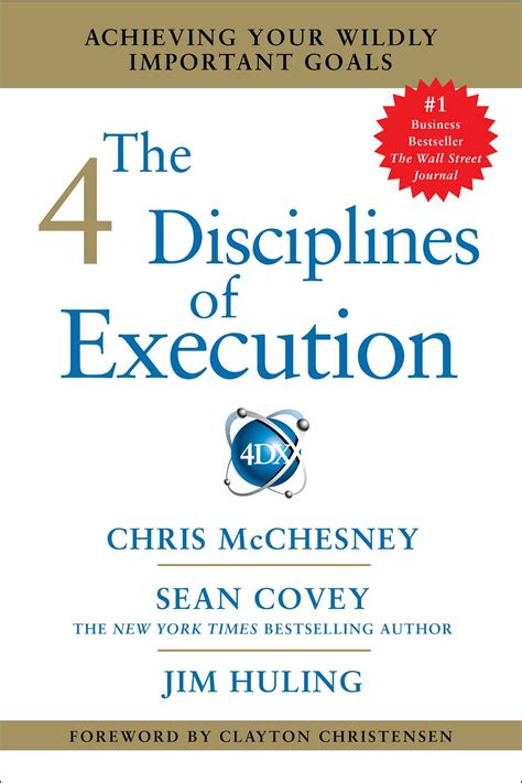 libro 4 disciplines of execution the 4 disciplines of execution book by sean covey mcchesney jim huling official