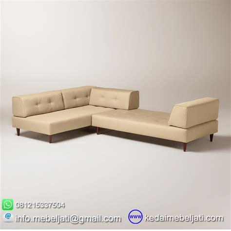 Daftar Sofa Sudut Minimalis beli sofa sudut modern minimalis valencia kayu jati harga