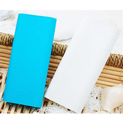 Silicon Cover For Xiaomi Power Bank 16000 Mah White Xobt07wh silicon cover for xiaomi power bank 16000 mah black