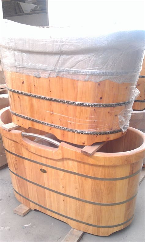 barrel bathtub wooden bathing barrels cedar wood spa tub wooden barrel