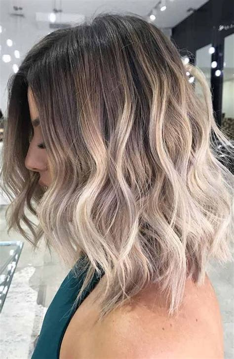 hairstyles and color for short hair normal hair color trends for short hairstyles 2018
