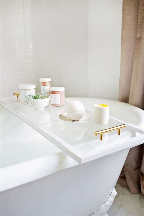 diy lucite bathtub caddy diy  bathtub caddy
