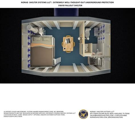 underground shelter designs s16x10 bomb shelter view from above floor plan fallout