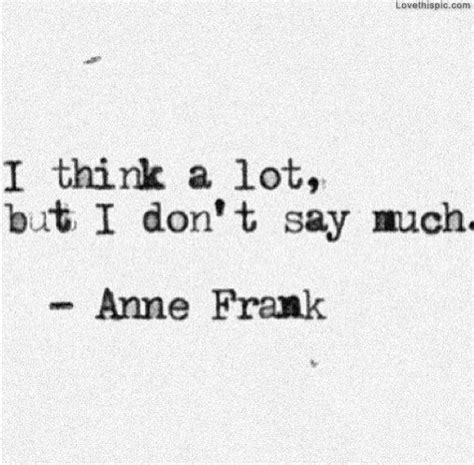 Find A Place To Sit Think While Youre On Vacation by Frank Quotes From Diary About And