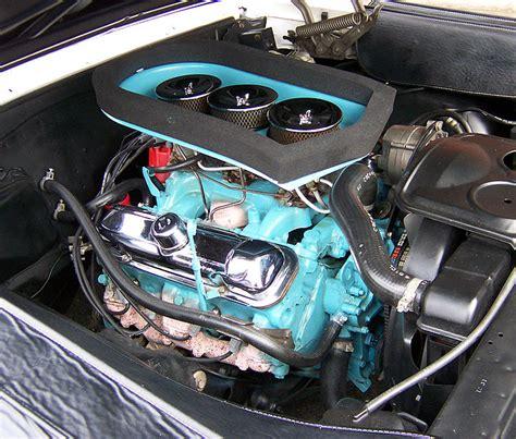 pontiac 421 engine file pontiac tripower jpg