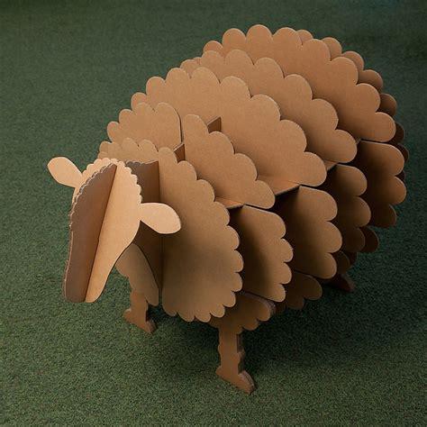 www como hacer una oveja de carton paso x paso estanter 237 a de oveja quot molly quot de stange design