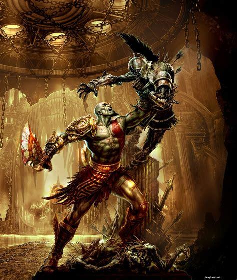 gods of war god of war review greek mythology video game gamespy athena zeus kratos mollusk gaming