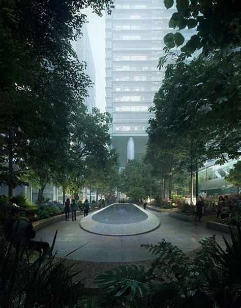 Landscape Architecture Hk 香港太古坊景观设计 Gustafson Porter Bowman 谷德设计网