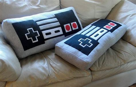 nintendo nes controller pillow by wtcrafts on etsy 35 00