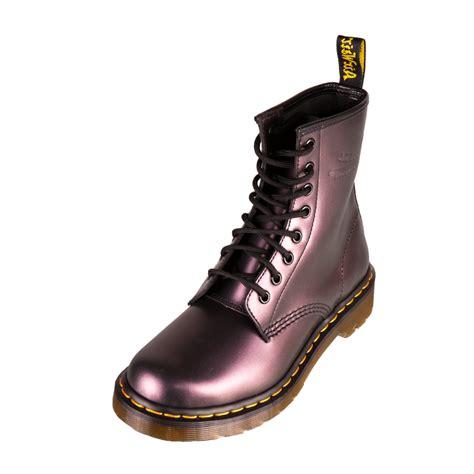 dr doc martens 1460 w womens classic boots purple