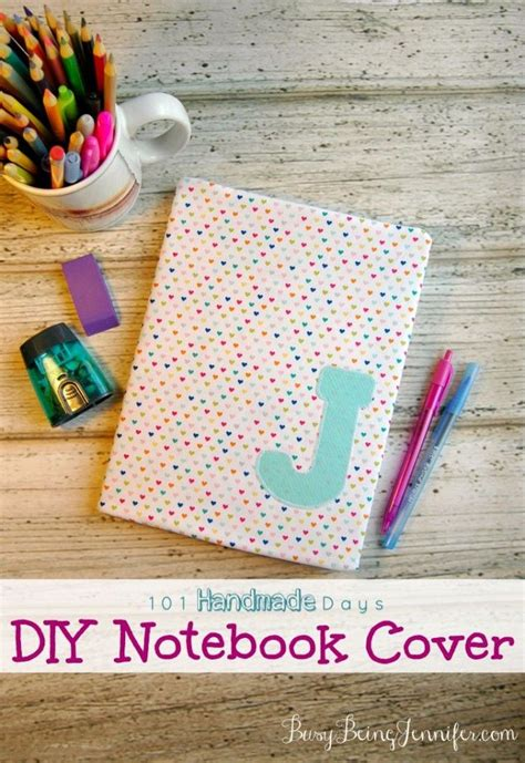 Handmade Notebook Ideas - 101 handmade days diy notebook cover notebook covers