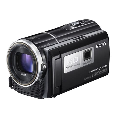 sony hd sony hdrpj260v hd camcorder the price deals
