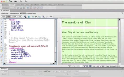tutorial web design dreamweaver 25 adobe dreamweaver cs6 tutorials for web designers