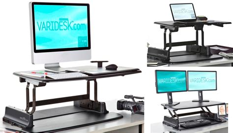turn desk into stand up desk easily convert your conventional desk to a standing desk