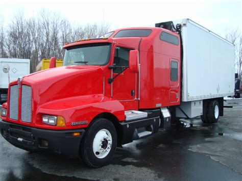 Kenworth T600 Studio Sleeper For Sale by 2007 Kenworth T600 For Sale At Ellenbaum Truck Sales