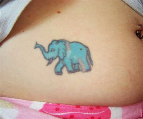 elephant tattoo on lower stomach 35 meaningful elephant tattoo designs will surprise you