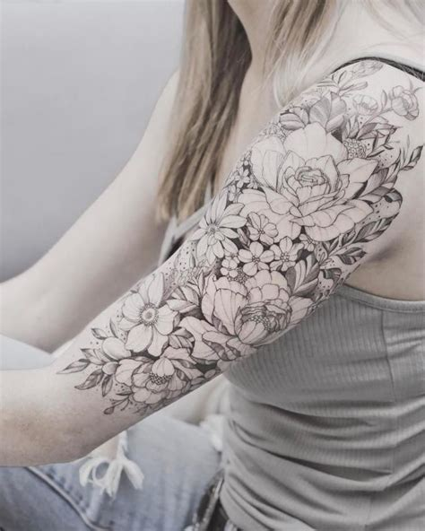 best tattoo canggu best 25 girl sleeve tattoos ideas on pinterest rose