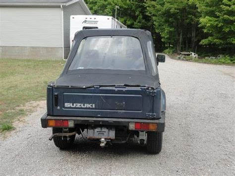 how to learn all about cars 1988 suzuki swift security system find used 1988 suzuki samurai no reserve in ludington michigan united states